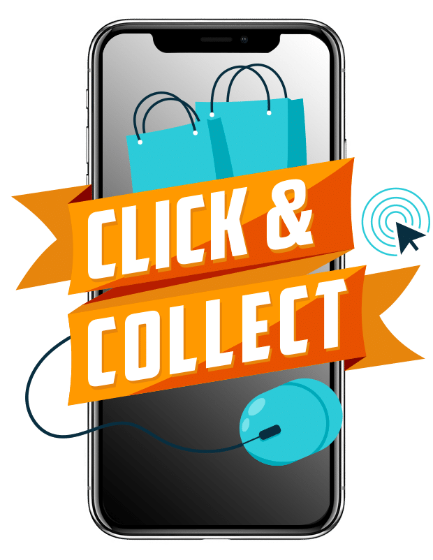 Site internet - Click and collect